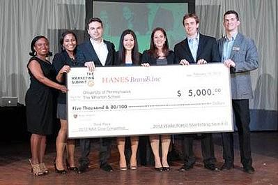 2012 Marketing Summit MBA 3rd place